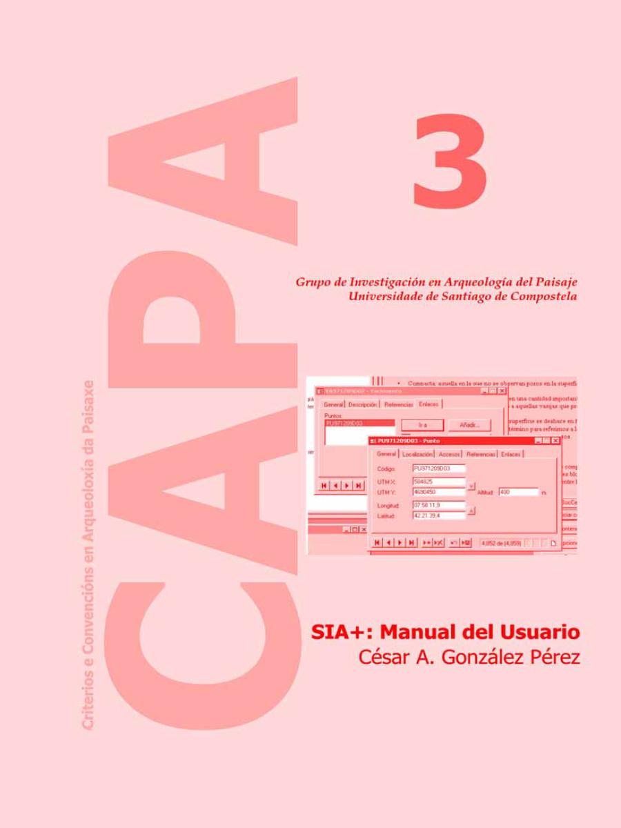 Image of: SIA+: User's Manual