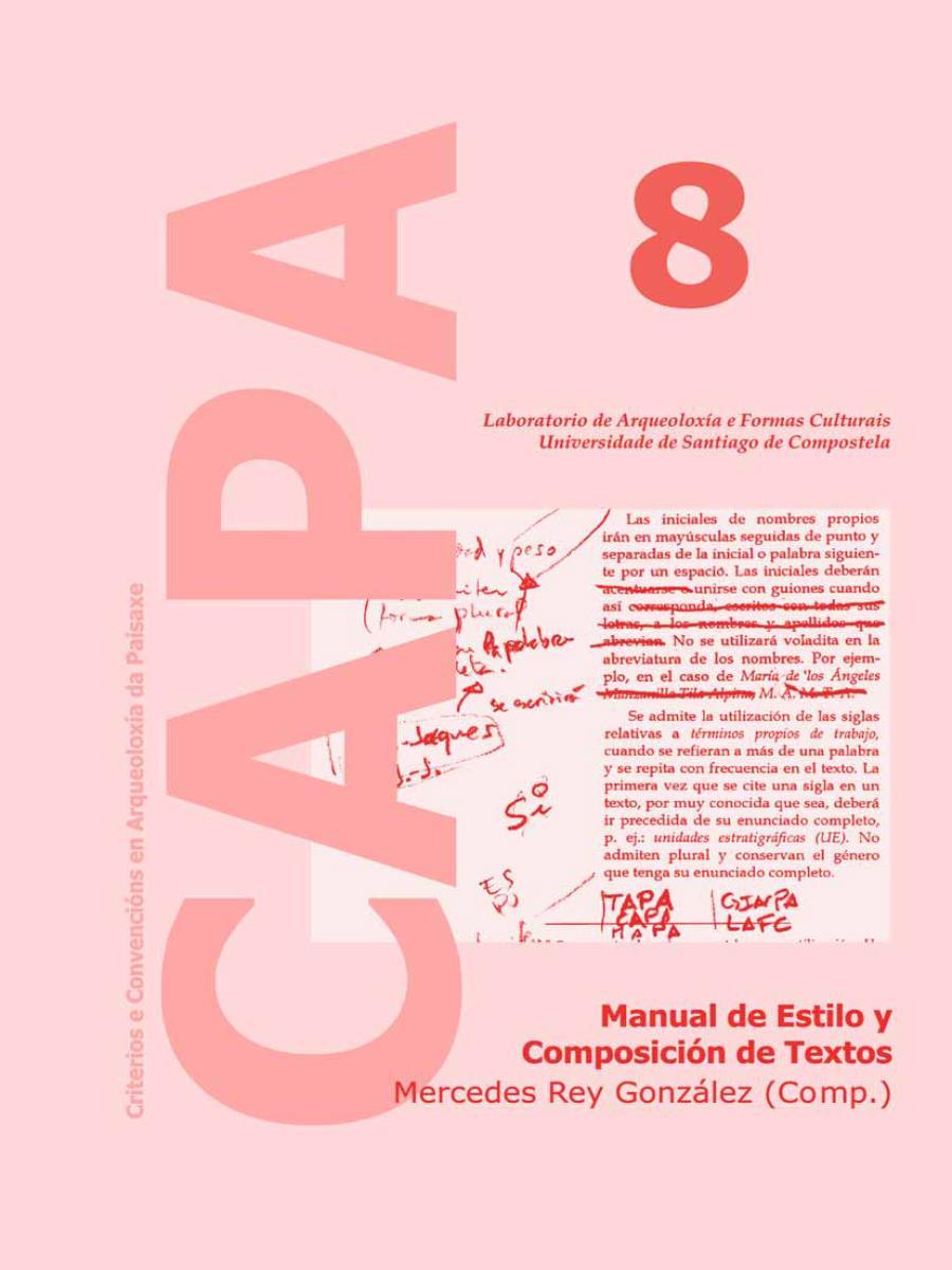 Image of: Manual de Estilo y Composición de Textos