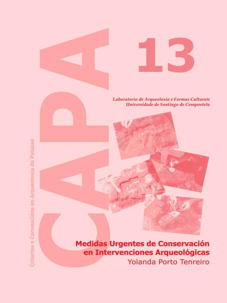 Image of: Medidas Urgentes de Conservación en Intervenciones Arqueológicas