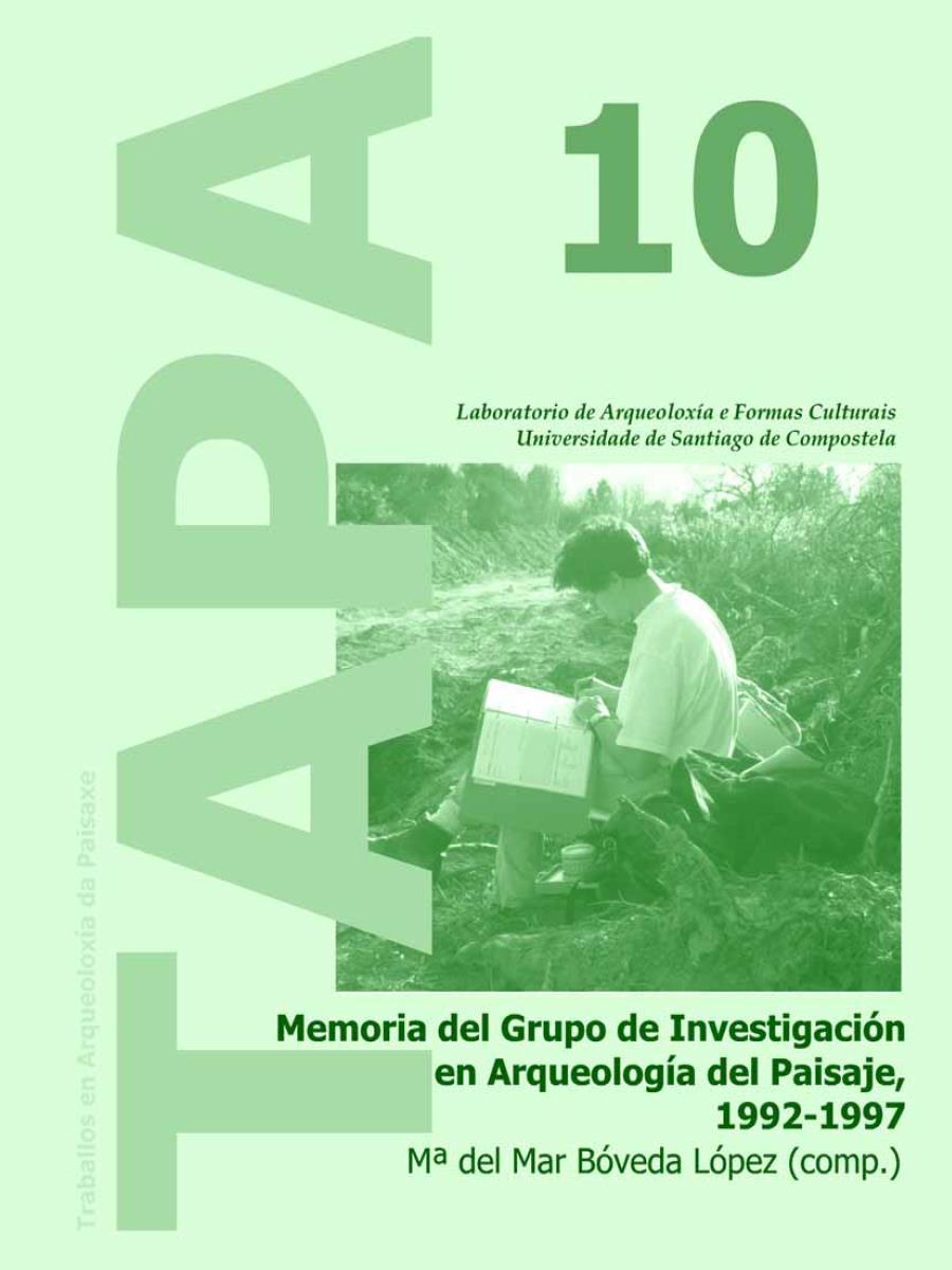 Imagen de: Memoria del Grupo de Investigación en Arqueología del Paisaje, 1992-1997