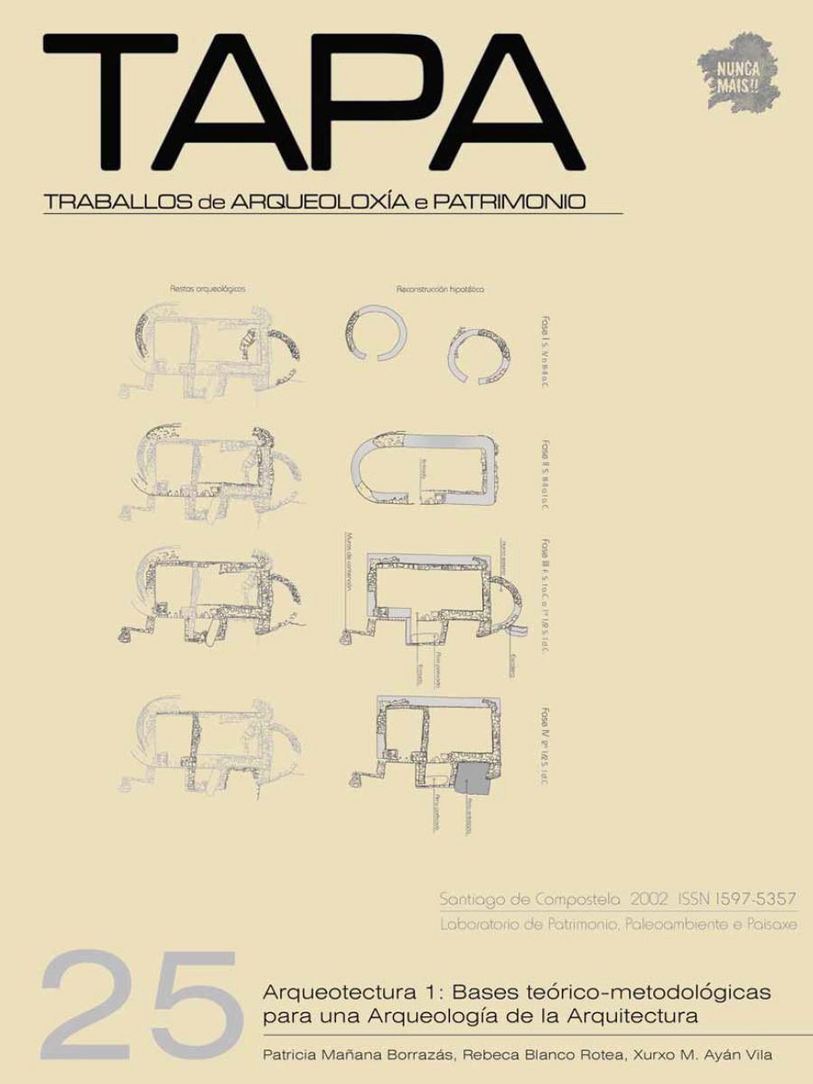 Imagen de: Arqueotectura 1: Bases Teórico-Metodológicas para una Arqueología de la Arquitectura