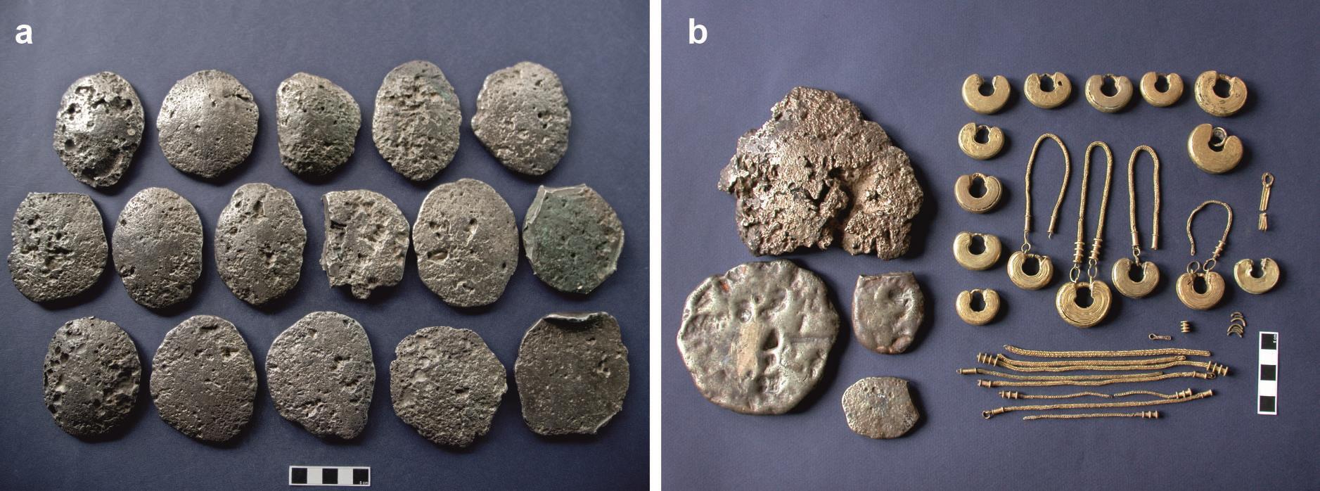 Image of: El CSIC ofrece la primera aproximación sistemática a la composición química de lingotes castreños de oro y plata