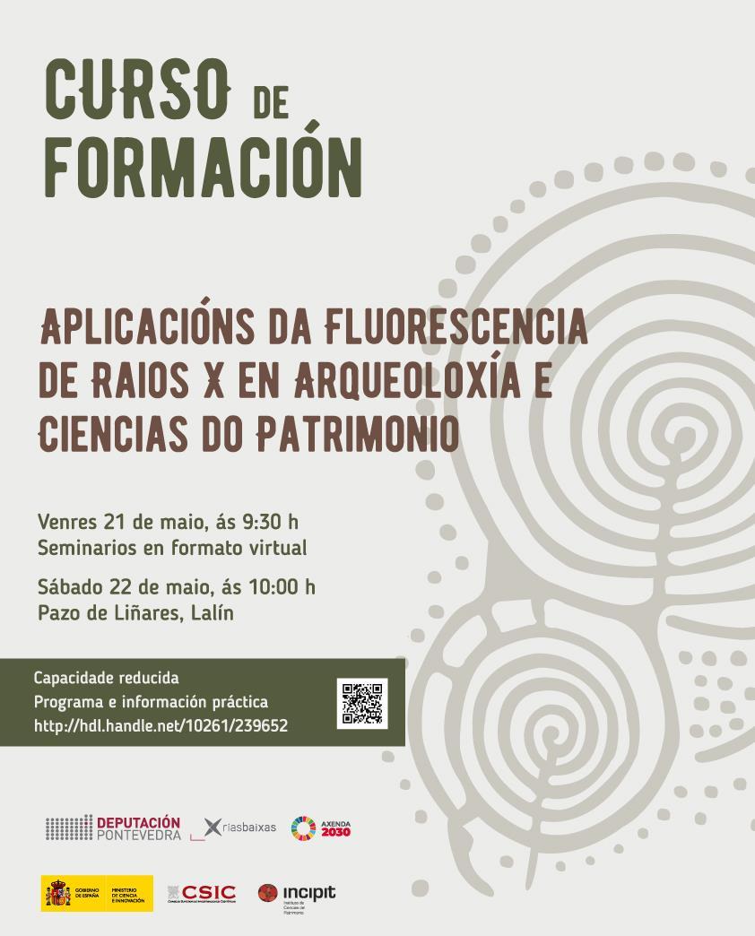 Imaxe de: Curso: Aplicacións da FRX en Arqueoloxía e Ciencias do Patrimonio